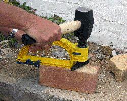 almi steinspalter steintrenner steinknacker ebay. Black Bedroom Furniture Sets. Home Design Ideas