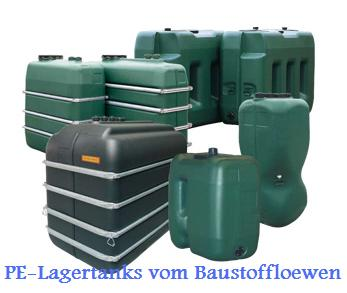 pe lagertank tank wassertank 1000 liter oberirdisch ebay. Black Bedroom Furniture Sets. Home Design Ideas