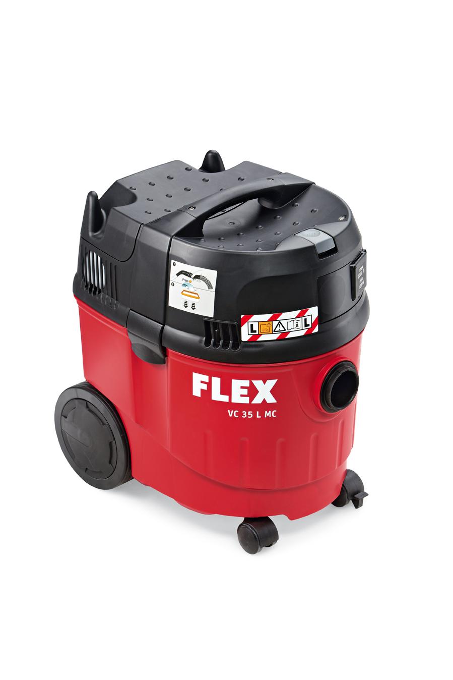 Flex vc35 atelier aspirateur mouillé + sec aspirateur vc