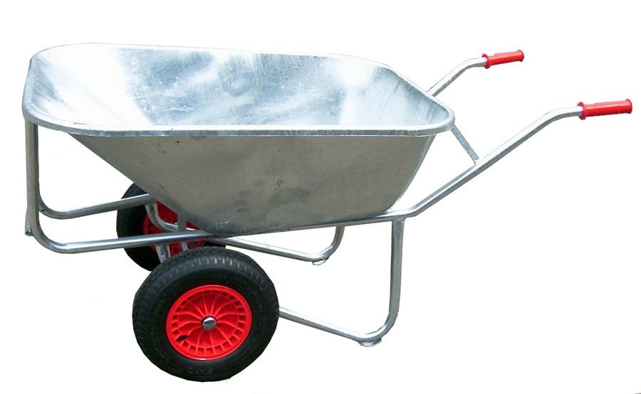 gro muldenkarre schubkarre schiebkarre farmer 2 rad 200 liter mulde frei haus. Black Bedroom Furniture Sets. Home Design Ideas
