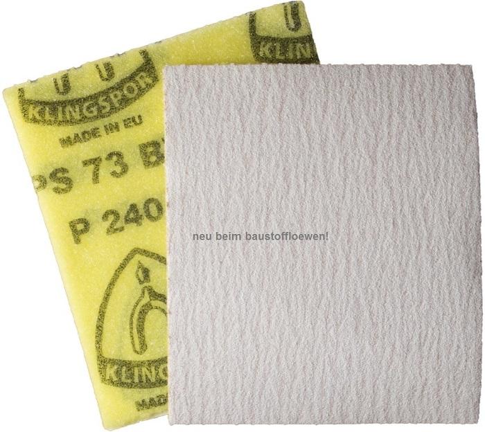 klingspor hand schleifpapier p 73 w soft auf rolle korn. Black Bedroom Furniture Sets. Home Design Ideas
