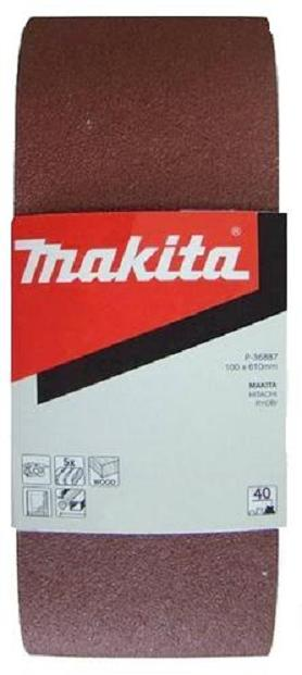 Schleifband Makita 100 x 610mm K120 1 Pack à 5 Stück Körnung 120 P-36924