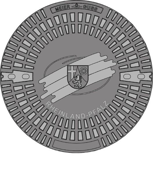 Gully Kanaldeckel Schachtdeckel Kl A 15 Motivdeckel  Kogge altes Segelschiff
